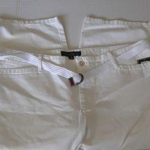 Ralph Lauren Midcalf Pants White Size 16